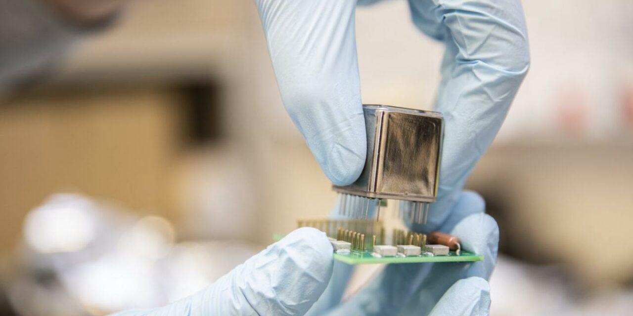 Un micro rivelatore di materia oscura