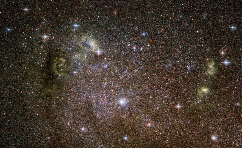 Una galassia atipica per Hubble
