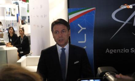 Conte visita il Paris Airshow