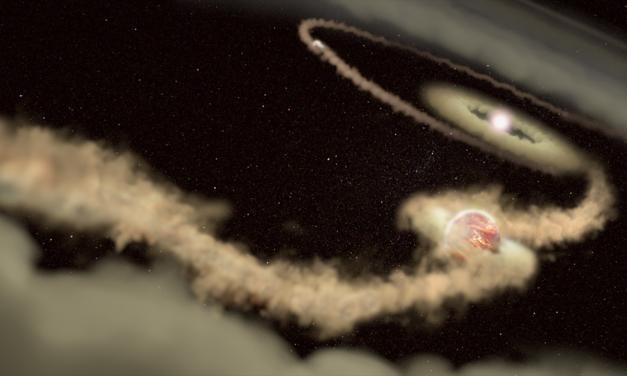 Un disco per due esopianeti gioviani