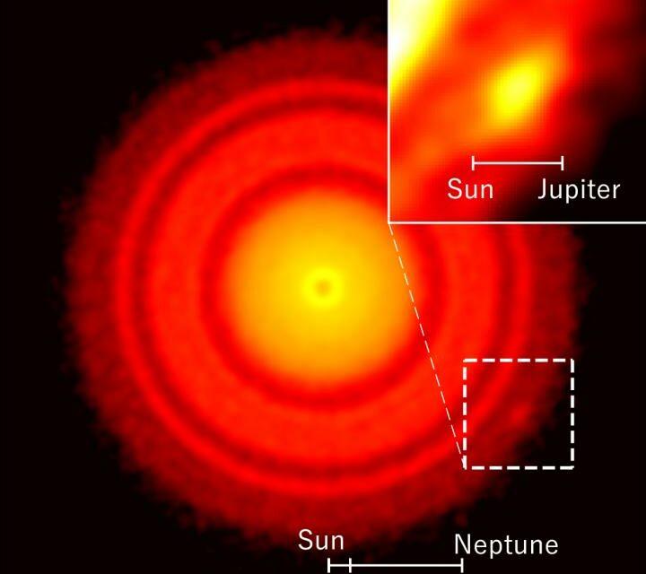Alma, scoperto il seme di un pianeta