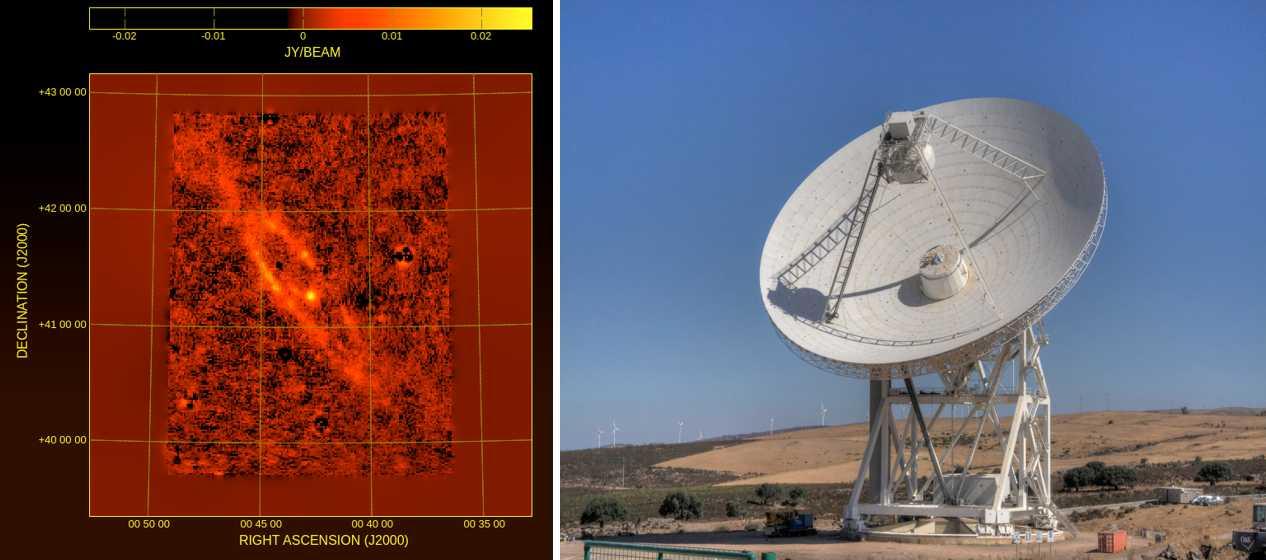Srt rivela l'onda anomala di Andromeda