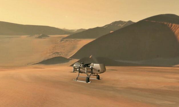 Dragonfly alla scoperta di Titano
