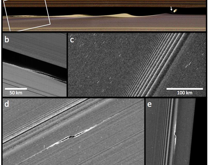 Saturno, anelli senza segreti grazie a Cassini
