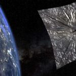 Vela solare in orbita
