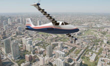 X-57 Maxwell, il primo aereo elettrico della Nasa