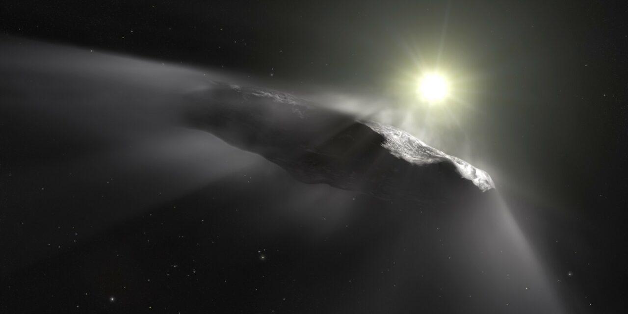La mareale origine di Oumuamua