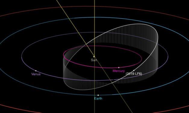 L'asteroide con l'anno più corto