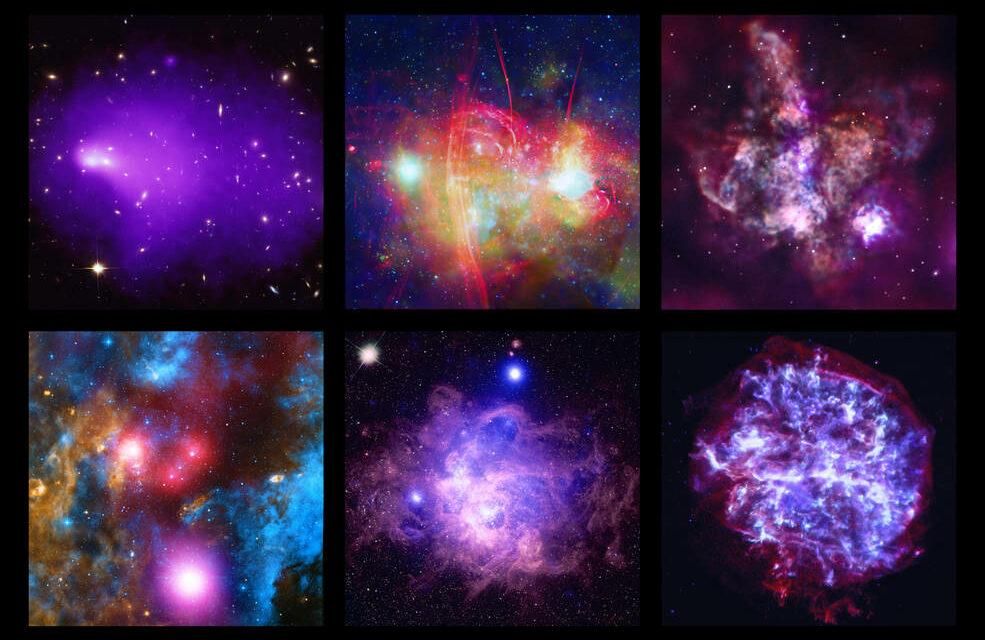 Compleanno in technicolor per Chandra
