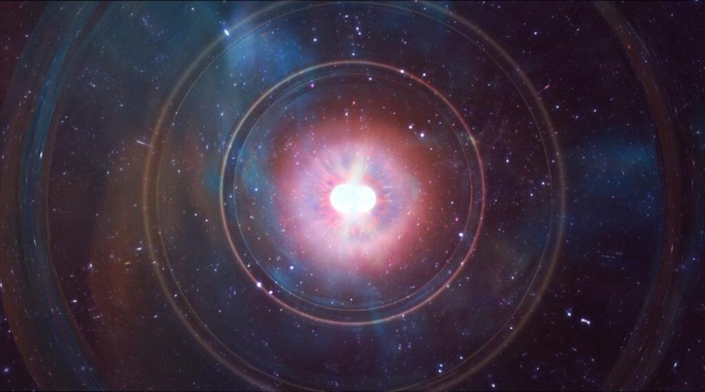 Stelle di neutroni, nuovo metro dell'espansione cosmica