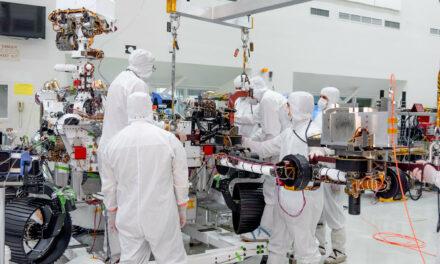 Mars 2020, il robot ha un braccio