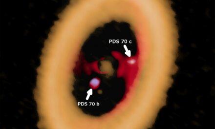Alma: un disco per proto lune