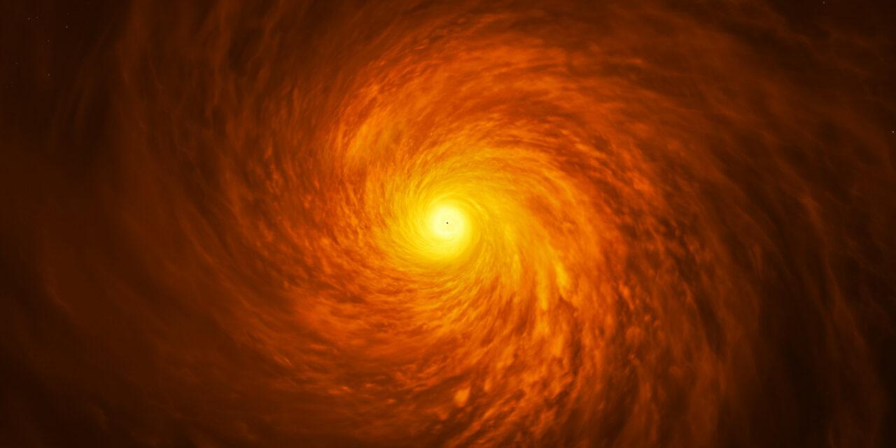 Un quasar ridimensionato