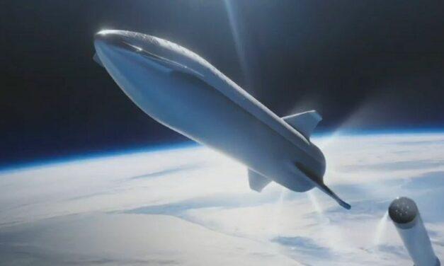 SpaceX, verso Marte con 41 motori