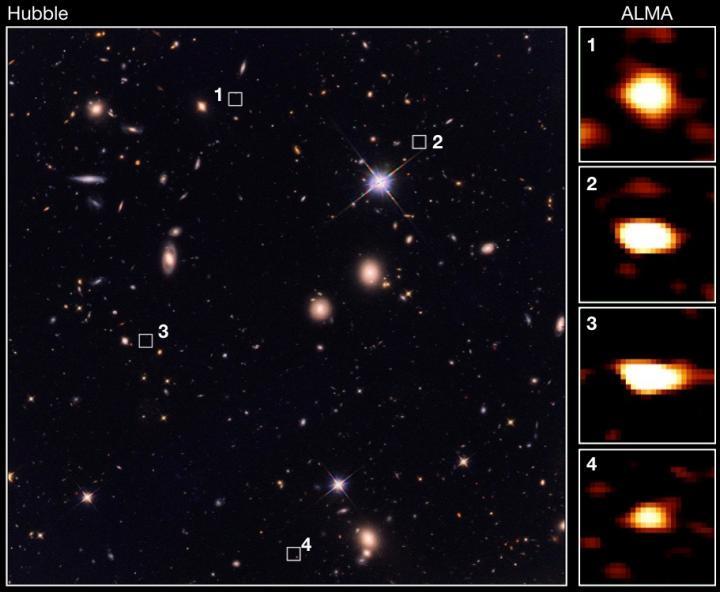 Galassie ai confini del cosmo