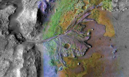 Piogge nel passato di Marte
