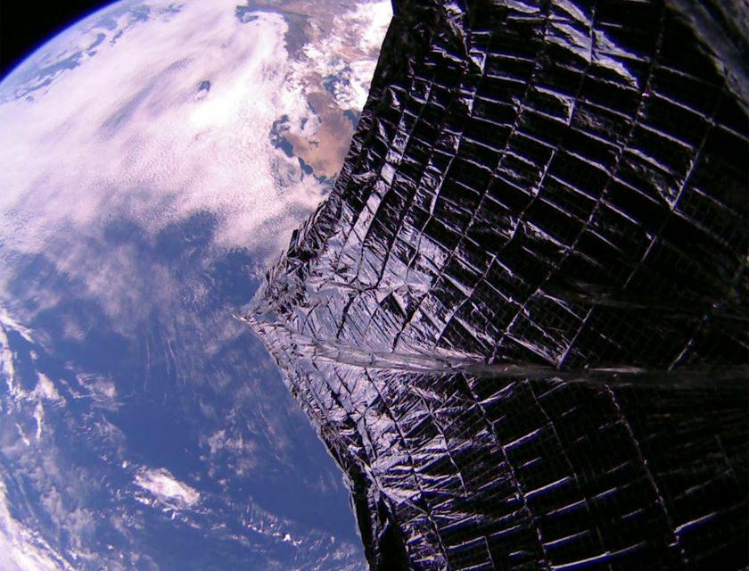 LightSail 2, prime immagine dallo spazio