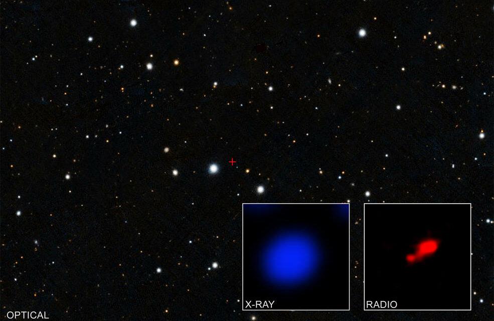 Ecco il buco nero più oscuro