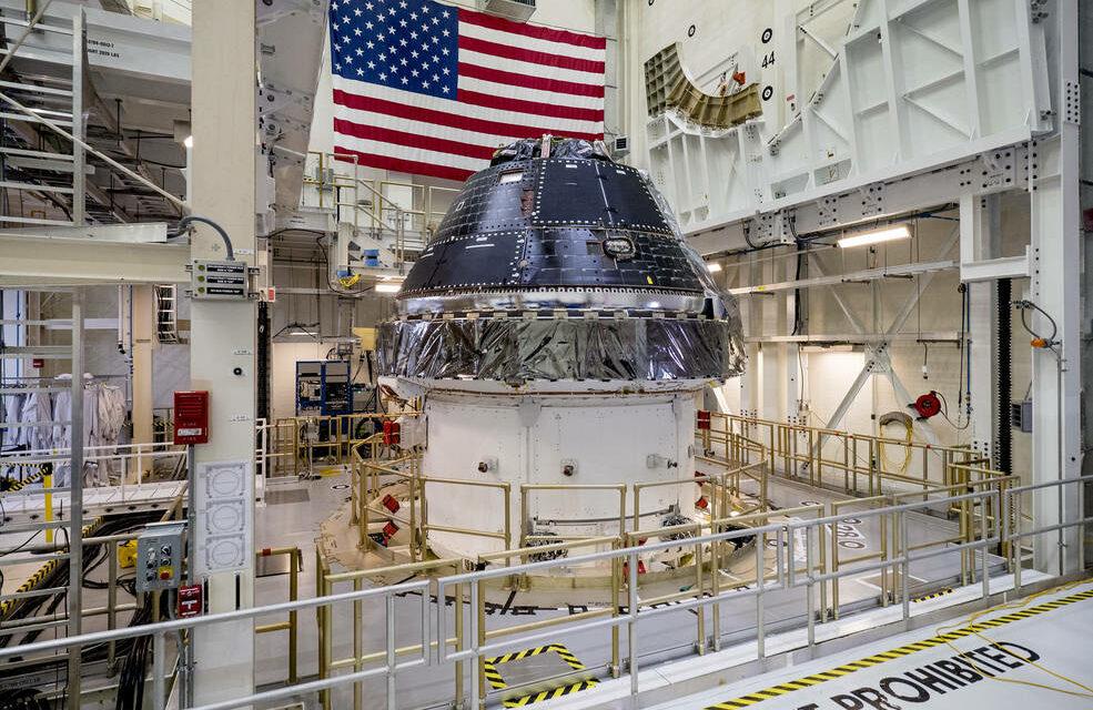 Luna 2024, finanziate le capsule Orion