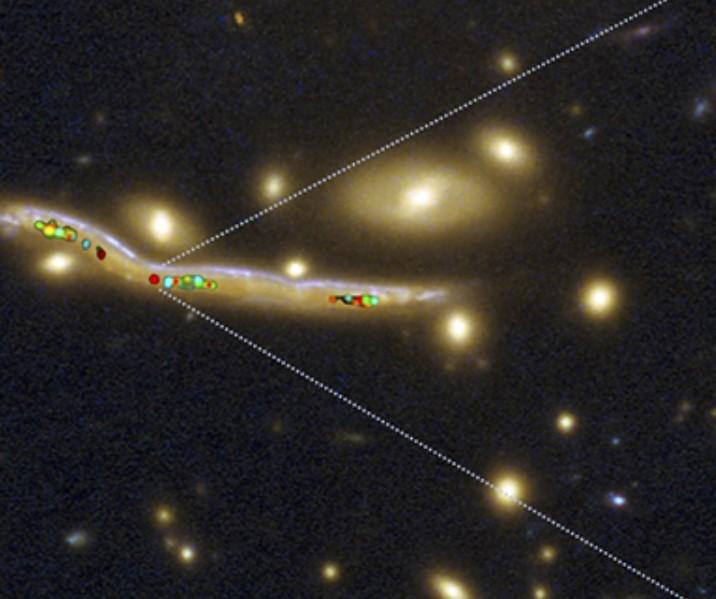 Nursery in pieno fervore nelle galassie distanti
