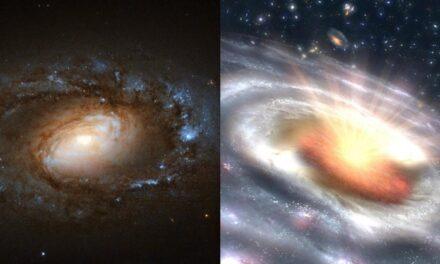 Una squadra di galassie 'trasformiste'
