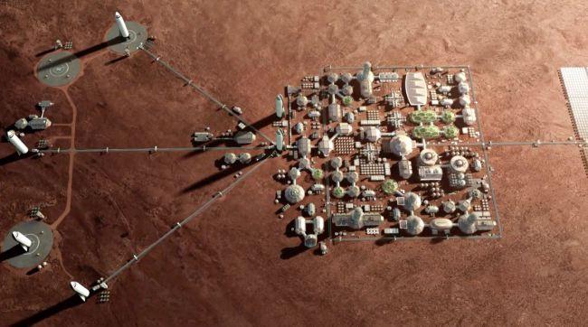 Marte: cosa c'è per cena?