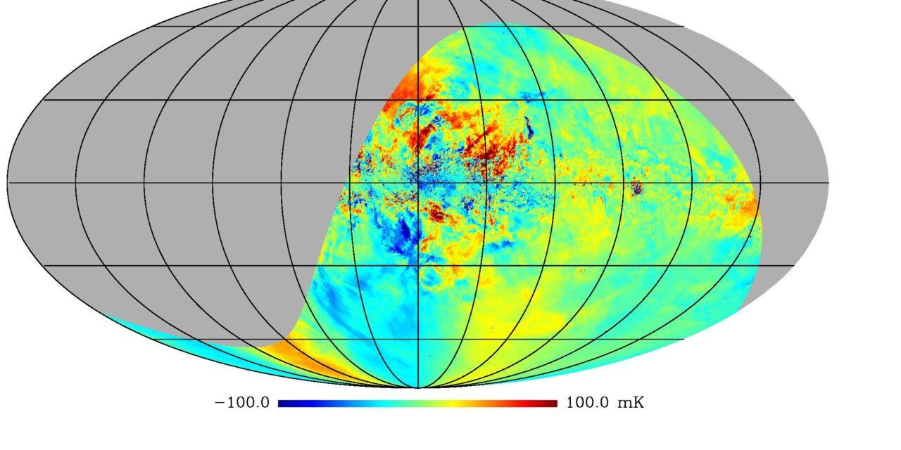 Ecco la più accurata mappa del cielo radio polarizzato