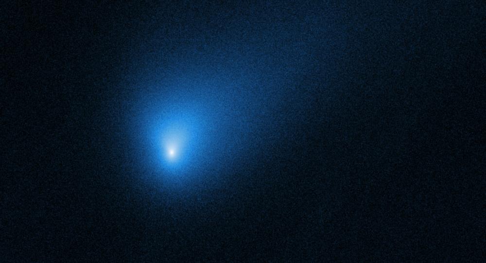 Il visitatore interstellare catturato da Hubble