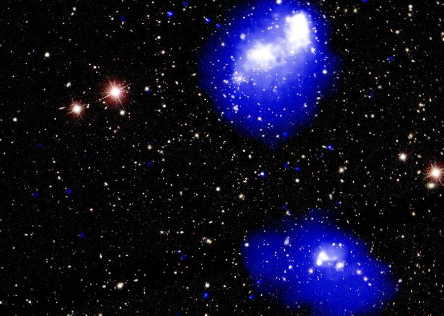 Maxi-tamponamento galattico in corso