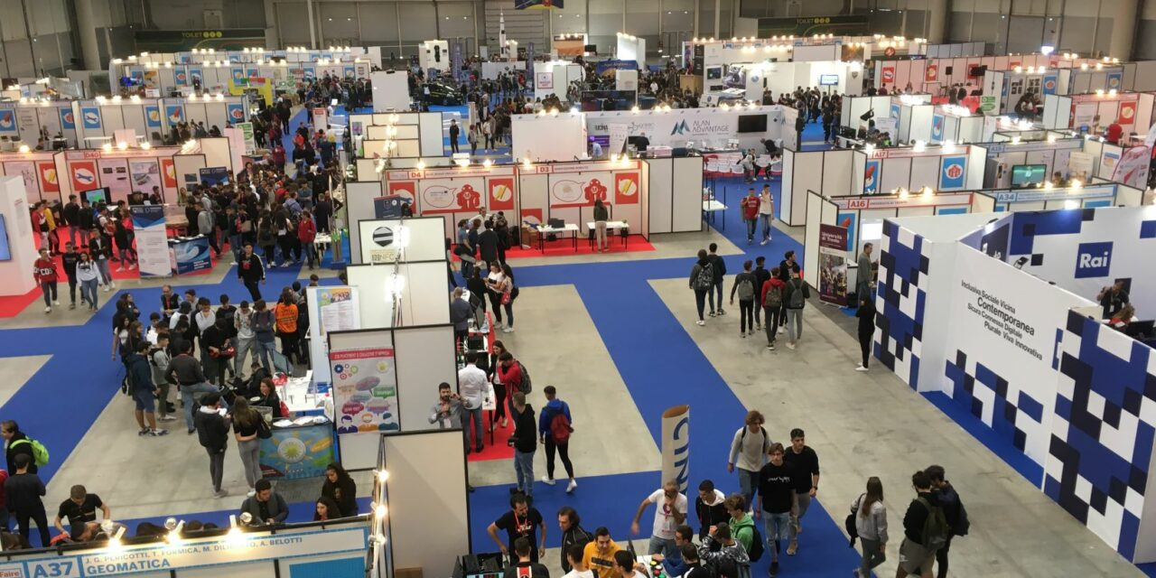 Maker faire, apertura con Space talk