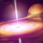 I bagliori di un buco nero