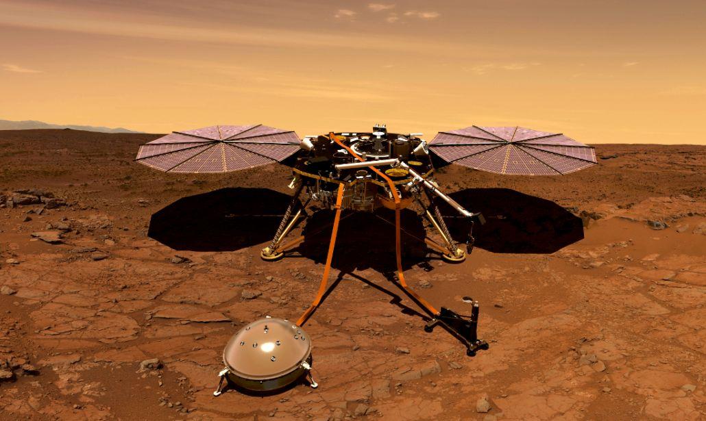Insight ascolta i suoni di Marte