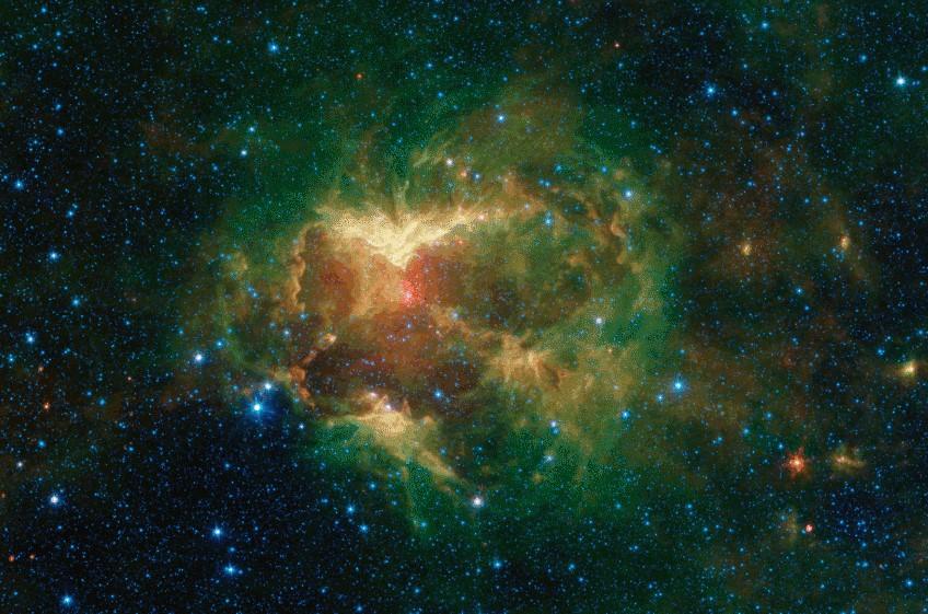 Una 'zucca' cosmica per Spitzer