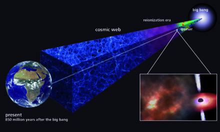 Un'antica nube di gas è la culla di stelle primordiali