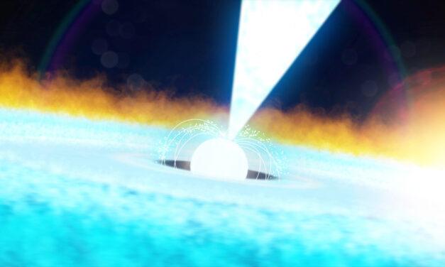 Un'esplosione a raggi X da record