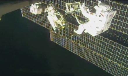 Live streaming: Luca a passeggio nello spazio