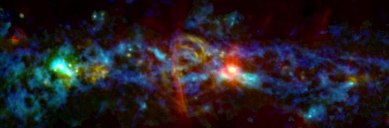Il 'cuore' della Via Lattea in festa