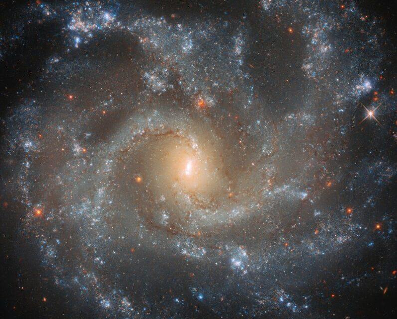 La galassia 'esplosiva'