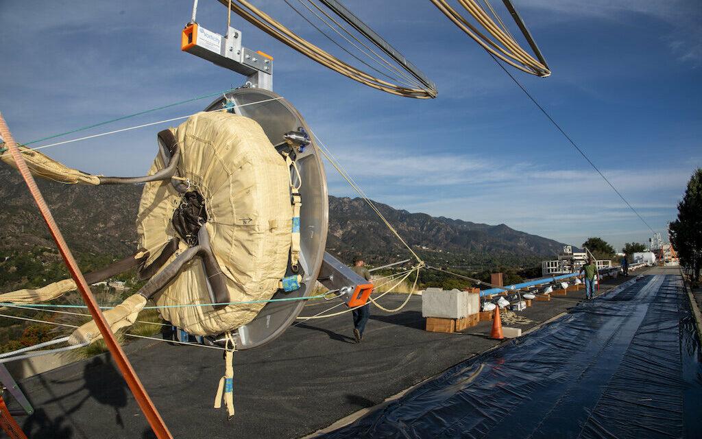 Prova paracadute, test positivo Exomars 2020