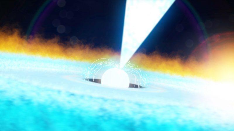 Fulmini e pulsar, ecco la settimana spaziale sulla Iss