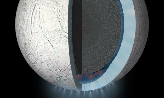 Il 'cocktail' chimico di Encelado