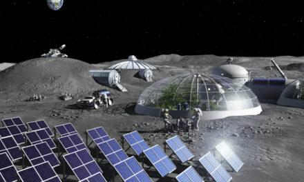 Ossigeno sulla Luna dalla regolite
