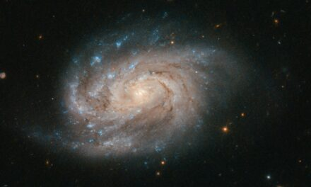 Una spirale luminosa per Hubble