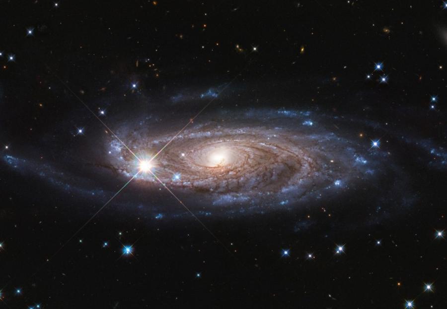 Una tranquilla gigantessa spaziale