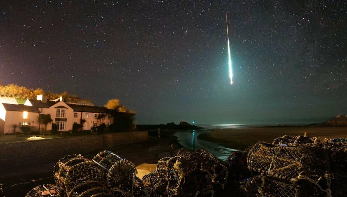 Meteora tocca Terra