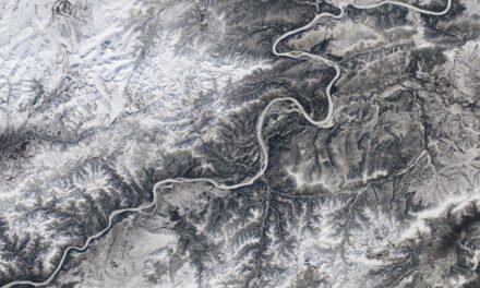 I fiumi ghiacciano di meno ci dicono i satelliti