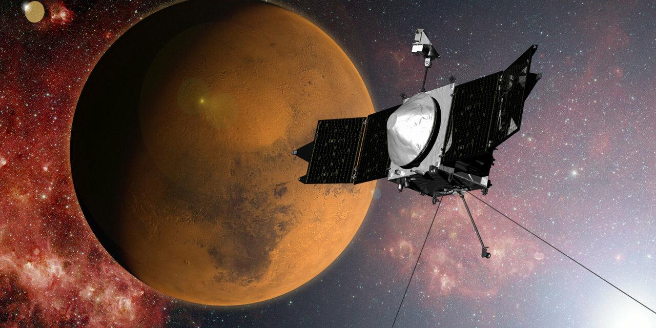 Marte, ionosfera sotto osservazione
