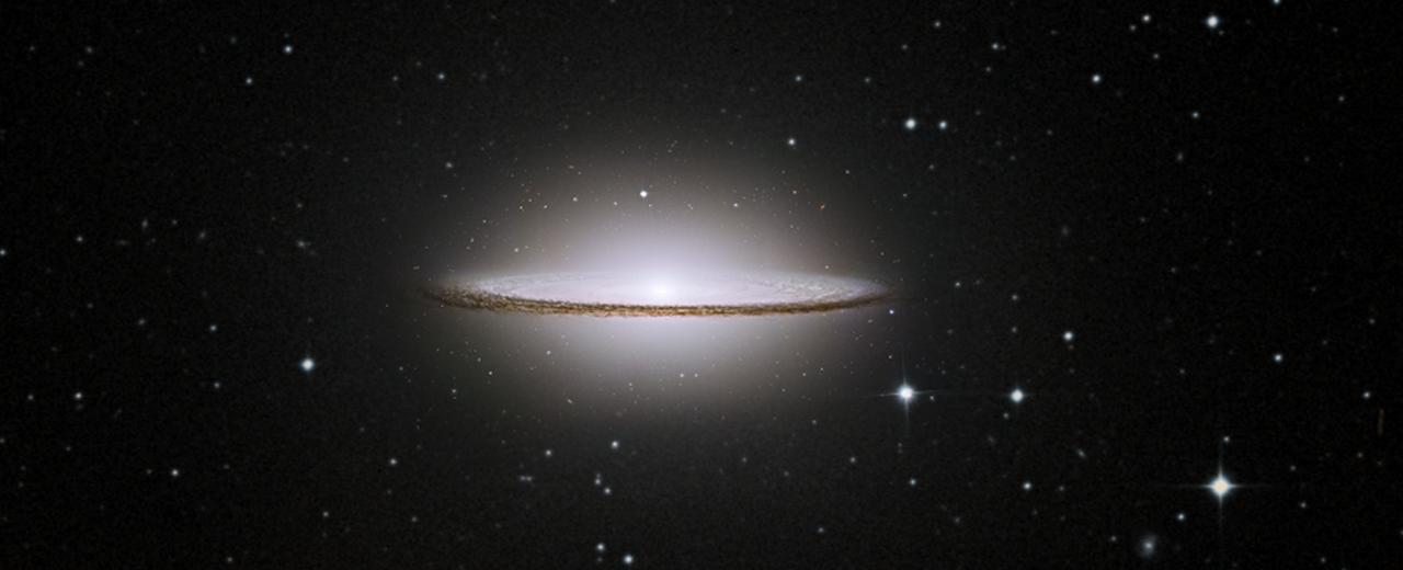 Il passato turbolento della galassia Sombrero