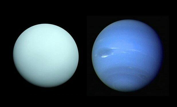 Urano e Nettuno, simili ma non troppo