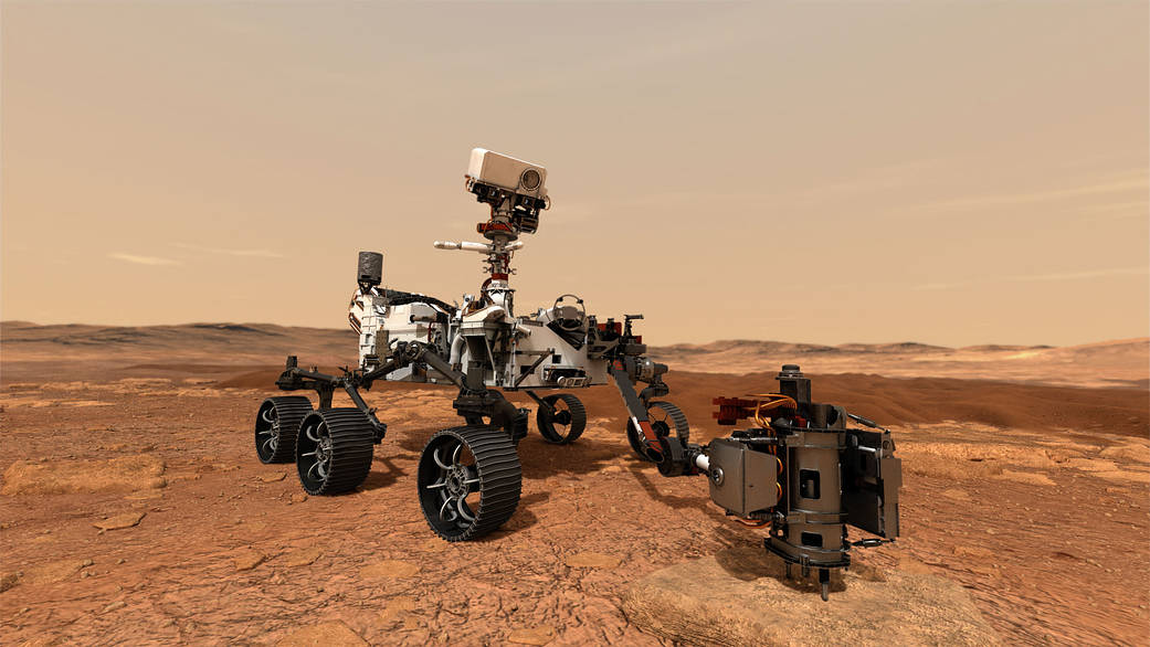 L'outfit di Mars 2020